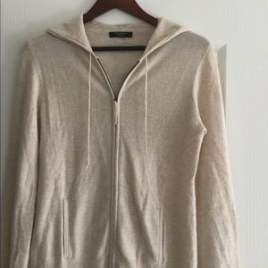 Cashmere hoodie from Ann Taylor